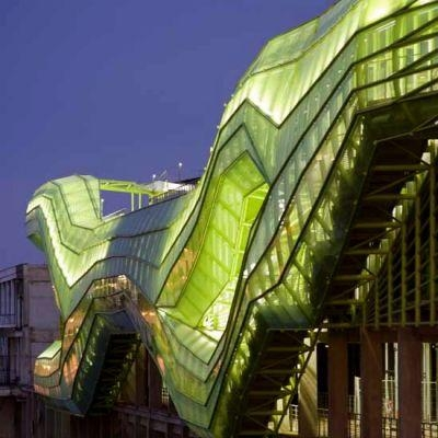 Architecture connaissance de l 39 art contemporain for Architecture contemporaine paris